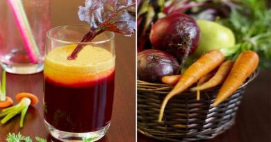 mrkvu, rajčicui sok od limuna