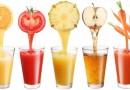 Liječenje sokovima i presnom hranom